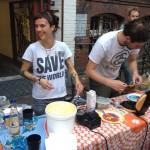 FSX Party im Clash Waffelbacken