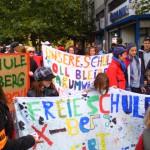 Freie Schule Kreuzberg auf der Lärmdemo 1