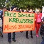 Freie Schule Kreuzberg muss beiben