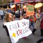 Freie Schule Kreuzberg auf der Lärmdemo 2