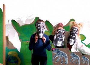 Collage Wir Gorilla Freie Schule Kreuzberg